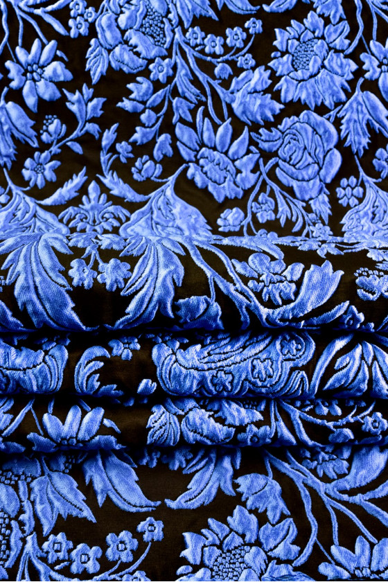 Jacquard in flowers 3 D