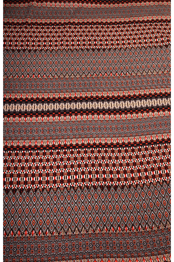 Patterned cotton