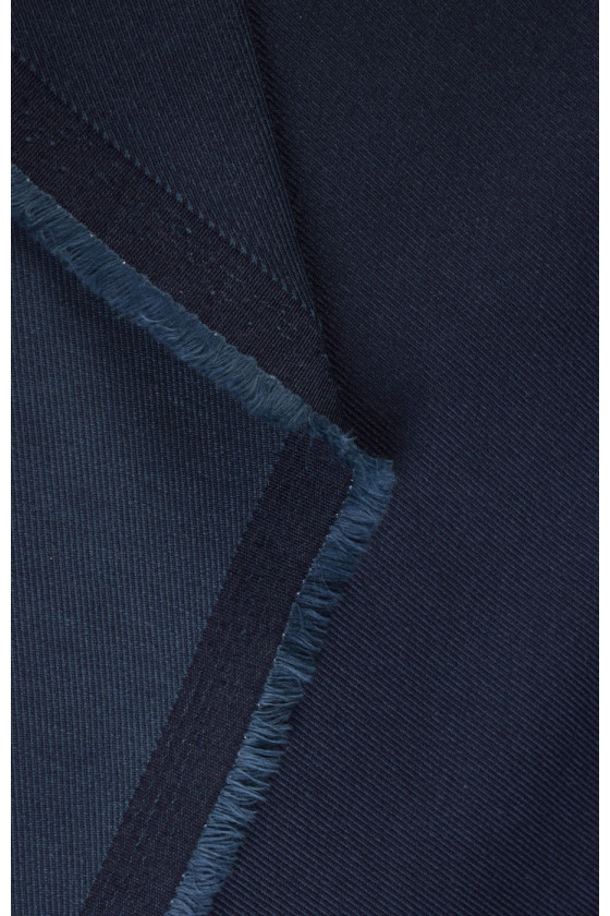 Cotton with polyester ryps
