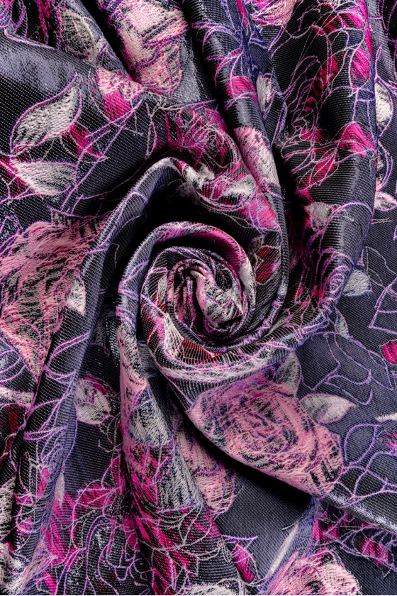 Jacquard in flowers
