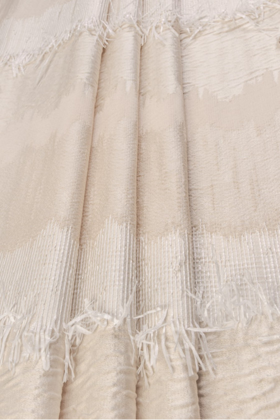 Jacquard beige with reef