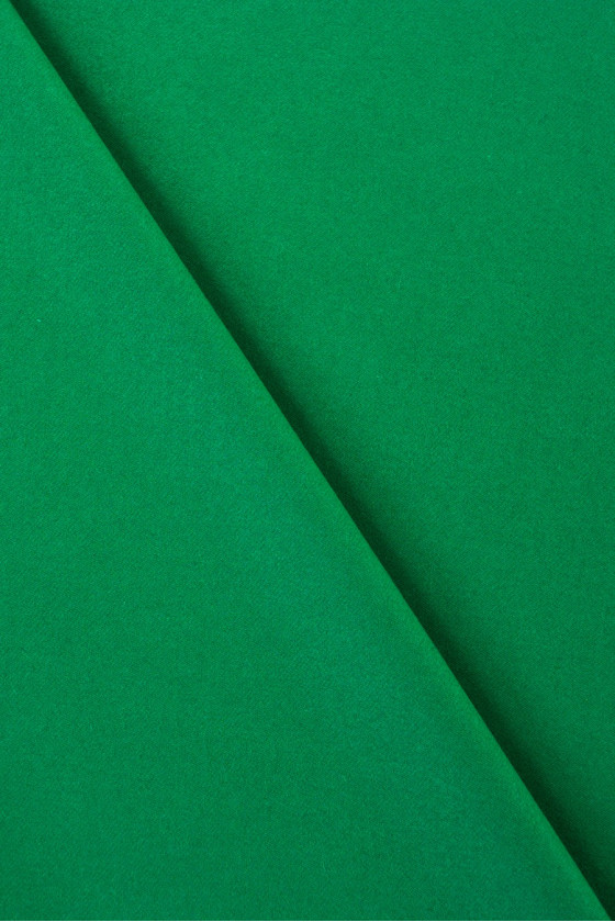 Wool with green cashmere
