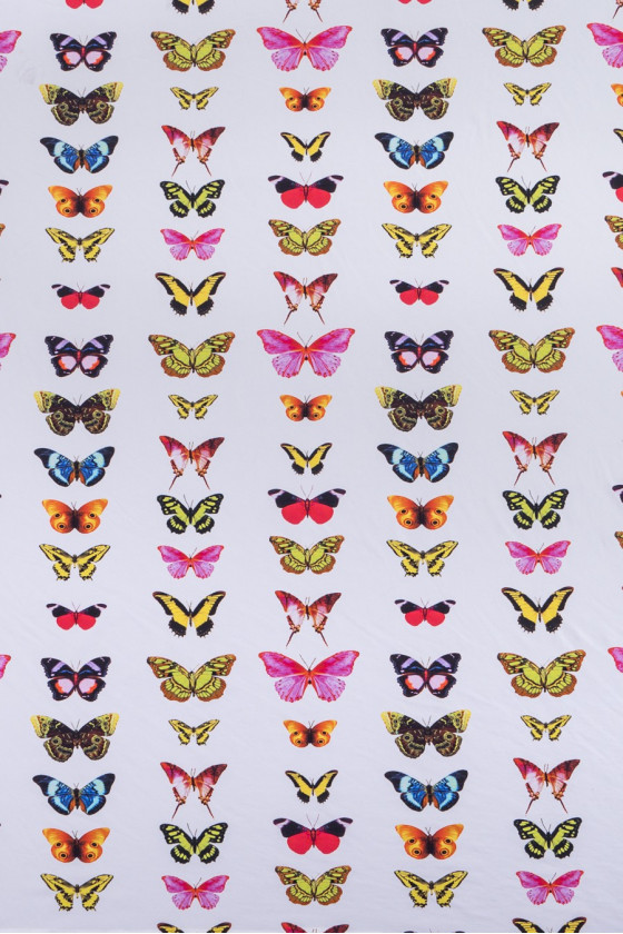 Knitted butterfly pattern