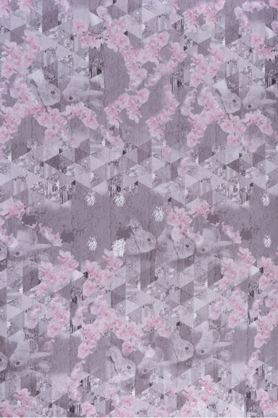 Viscose knit in pastel colors