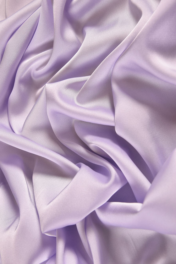 Polyester satin colors