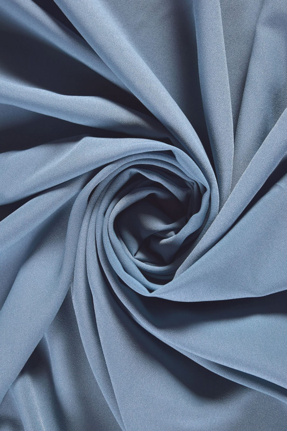 Polyester crepe colors