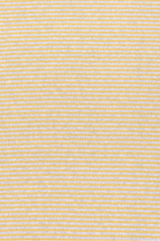 Striped cotton knitted fabric
