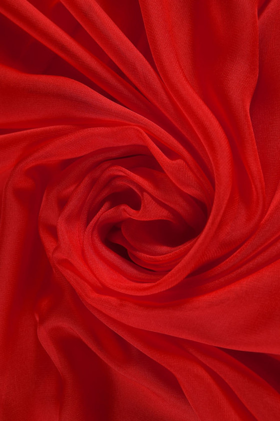 Polyester chiffon colors