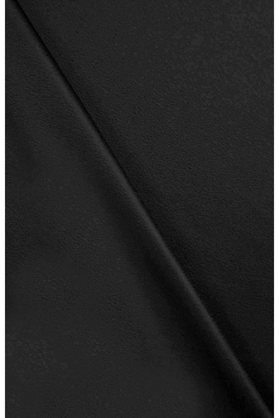 Coat fabric wool with black...