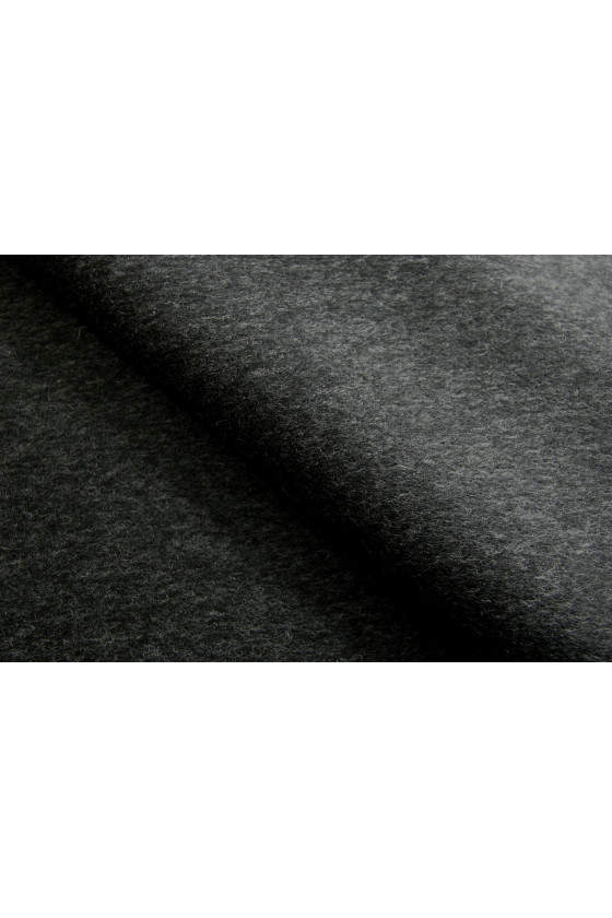 Coat fabric wool with graphite cashmere