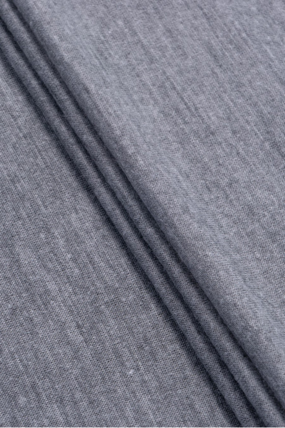 Knitted sweater thin gray