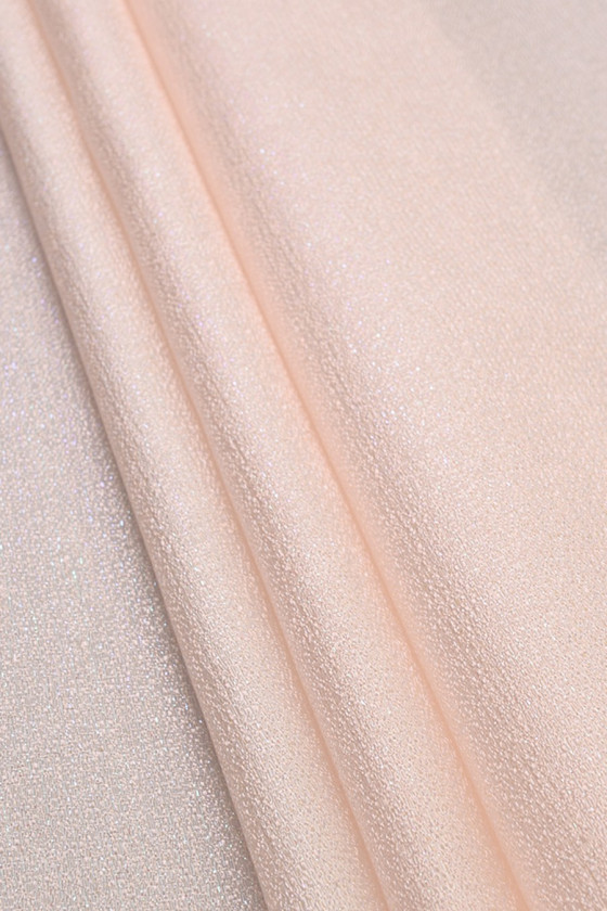 Jacquard with lurex 2 colors
