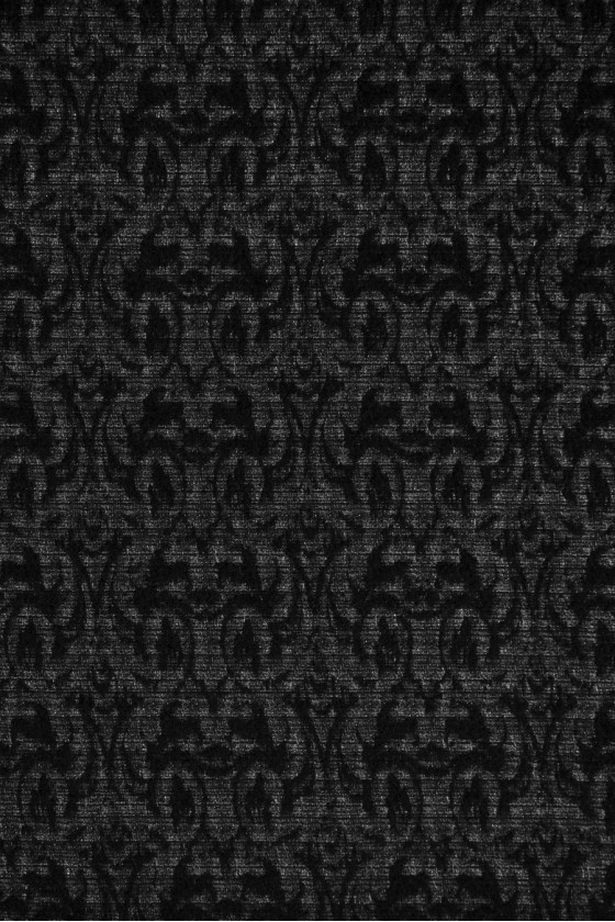 Patterned wool fabric
