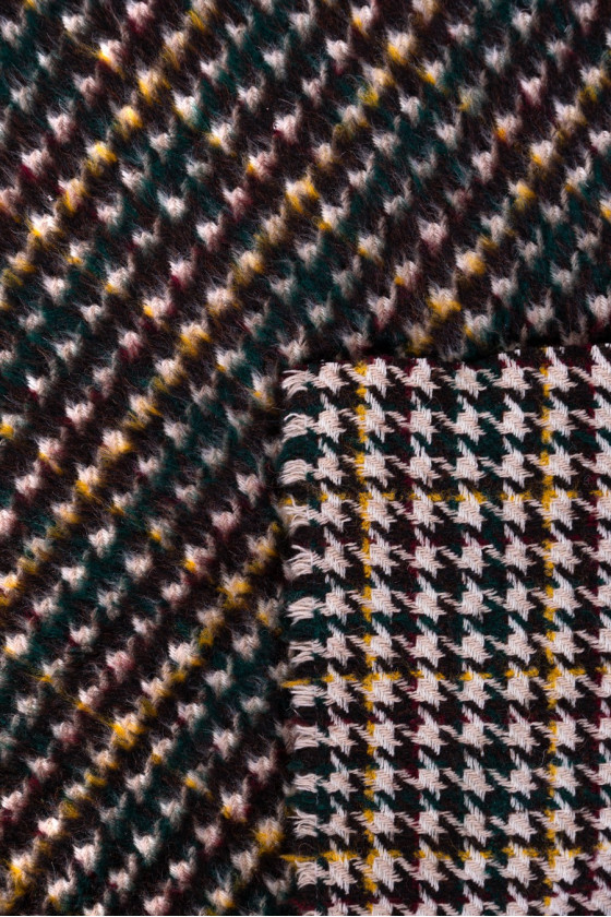 Dust-footed coat fabric