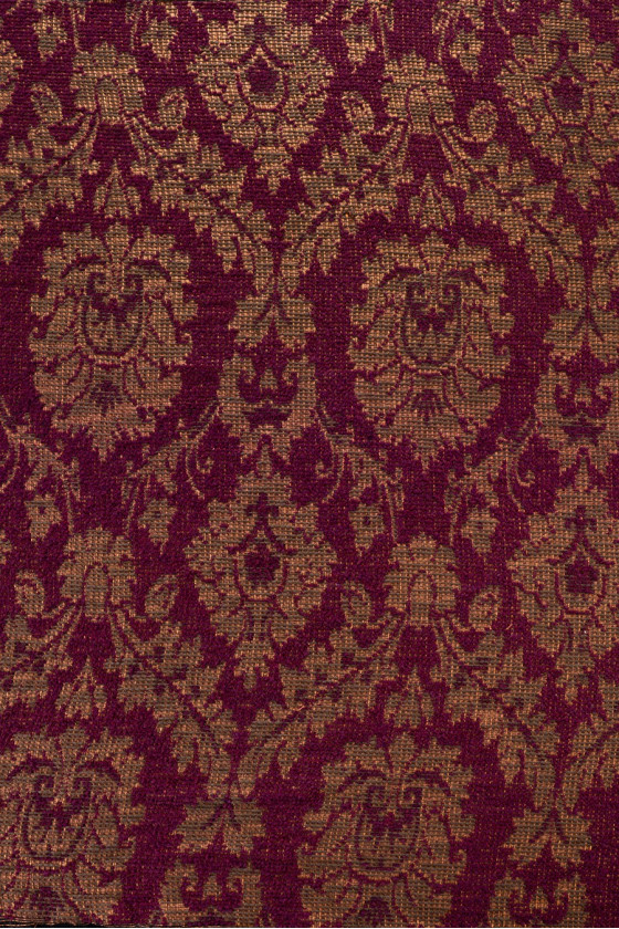 Oriental patterned costume fabric
