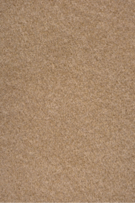 Coat fabric wool with camellia cashmere
