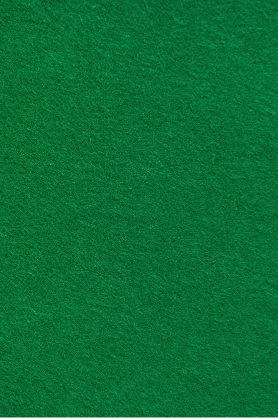 Coat fabric wool with green cashmere
