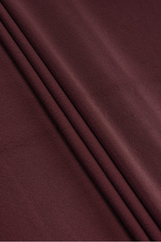 Wool coat fabric with...