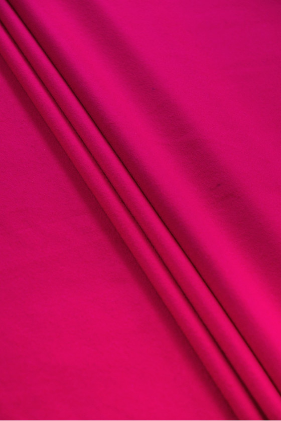 Wool coat fabric with pink...