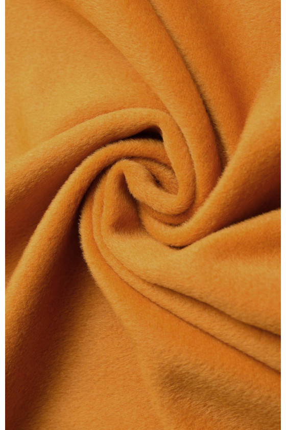 Coat fabric wool with honey mohair