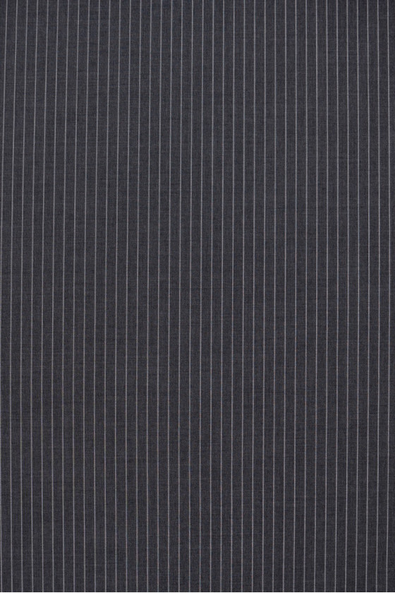 Wool with silk gray in stripes