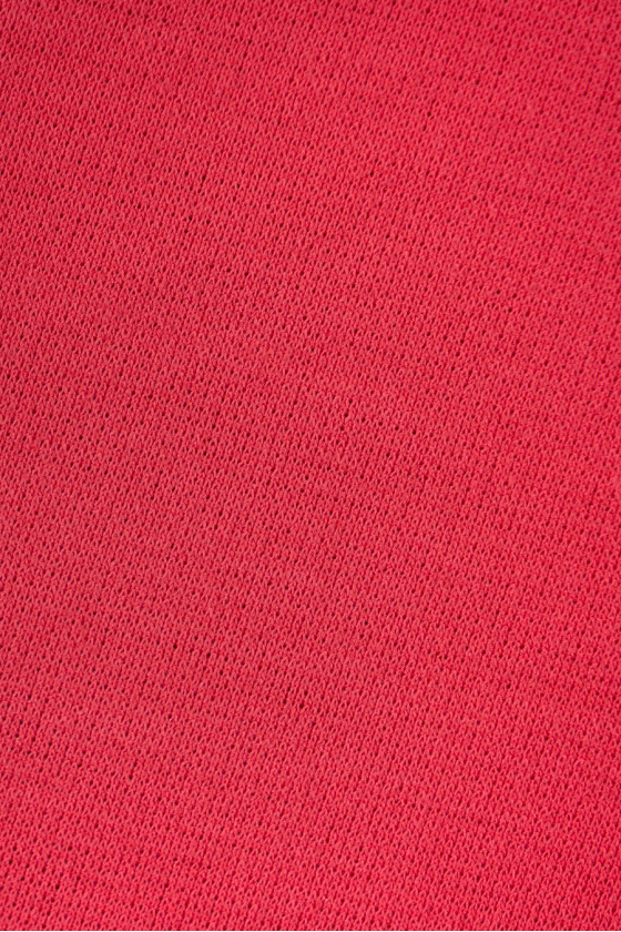 Knitted coral jersey