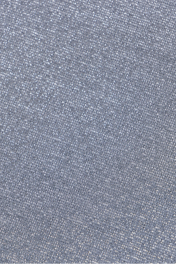 Knit gray-silver with lurex