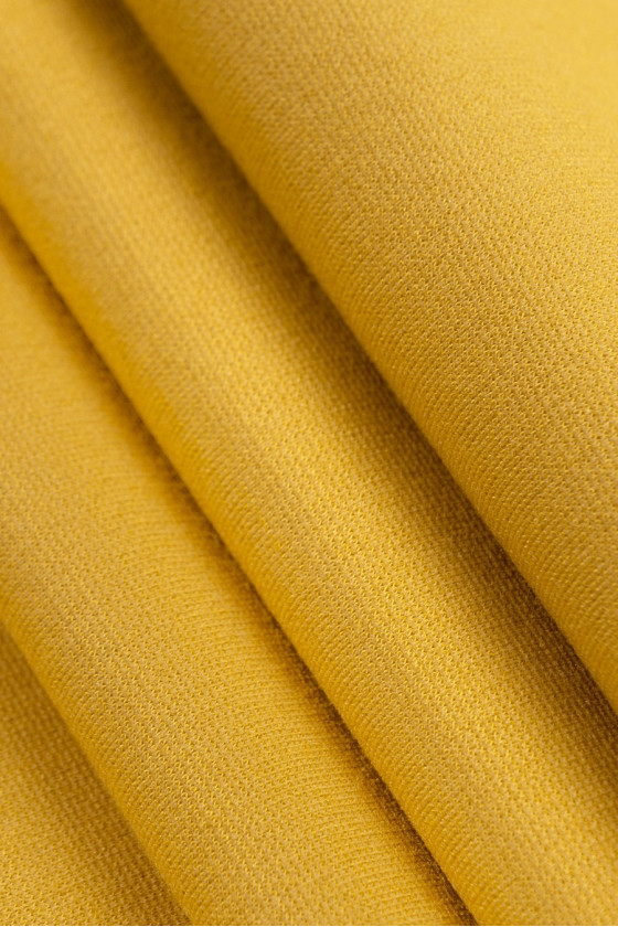 Knitted jersey yellow ish