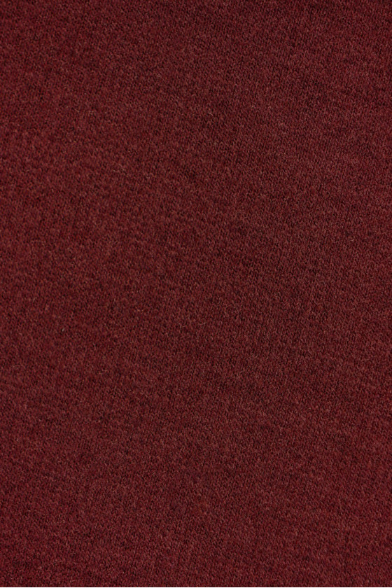 Knitted red jersey /burgundy