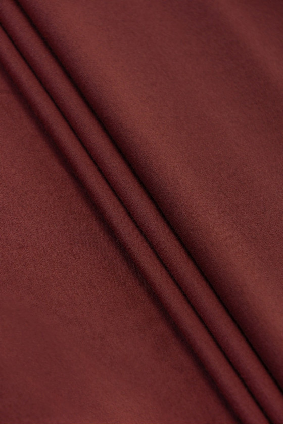 Dzianina jersey rudy /bordo