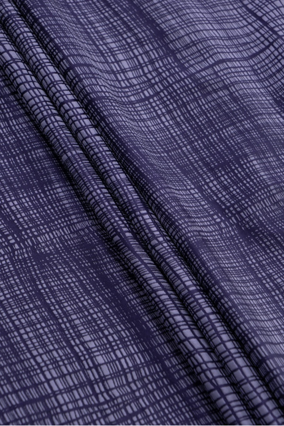 Violet polyester fabric