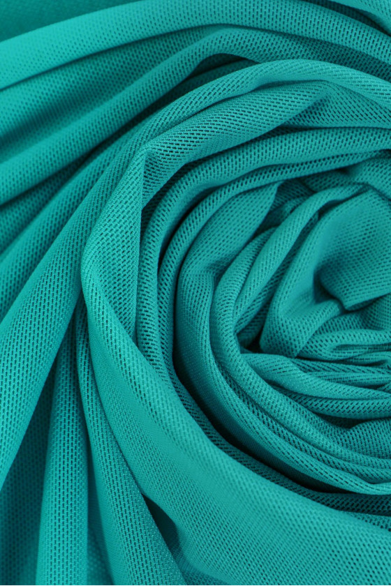 Green grid - turquoise