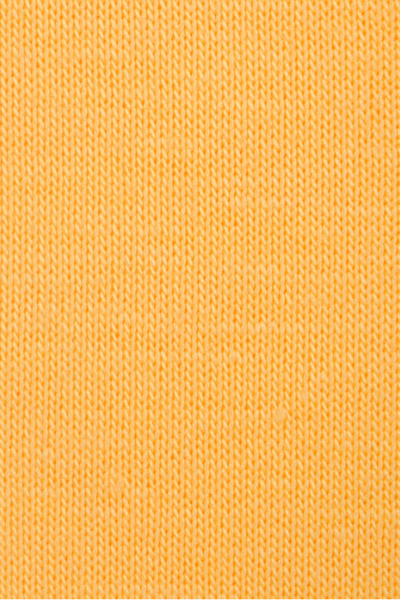 Knitted cotton sunny yellow