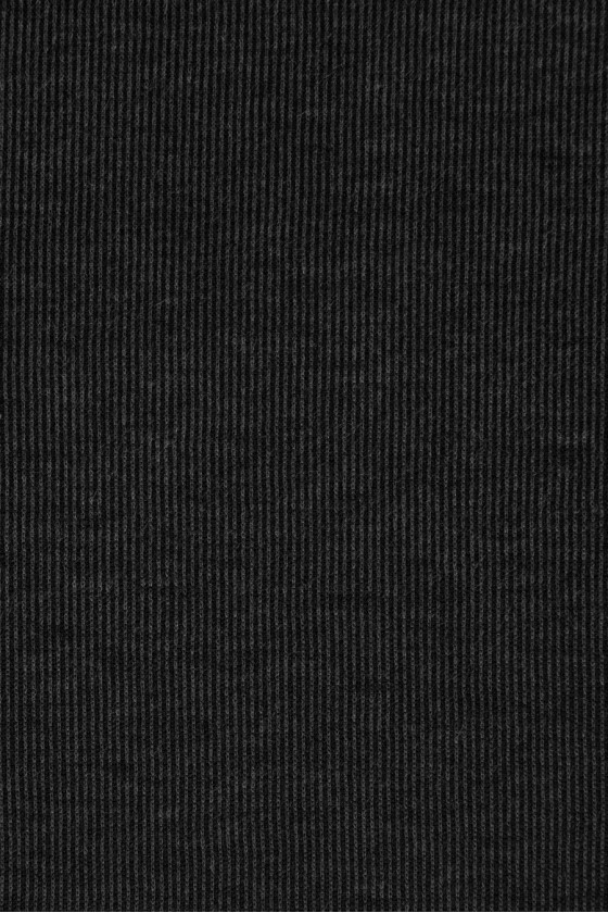 Knitted cotton in stripes - graphite