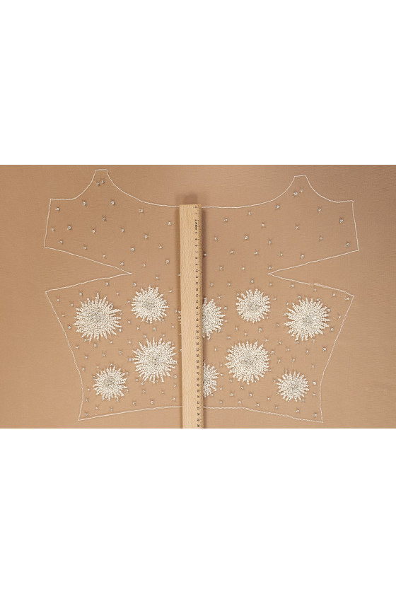 Wedding appassy - blouse with flowers