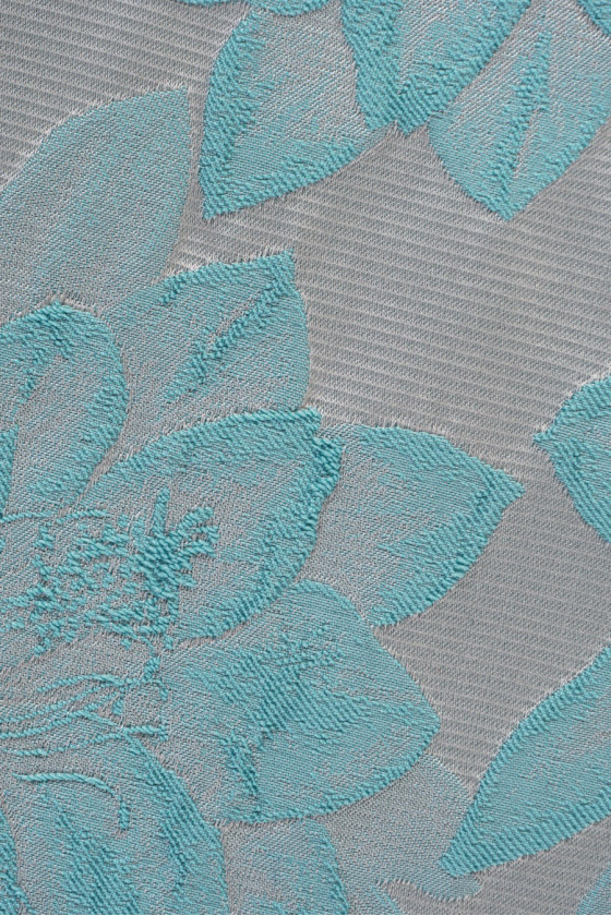 Jacquard fabric in flowers