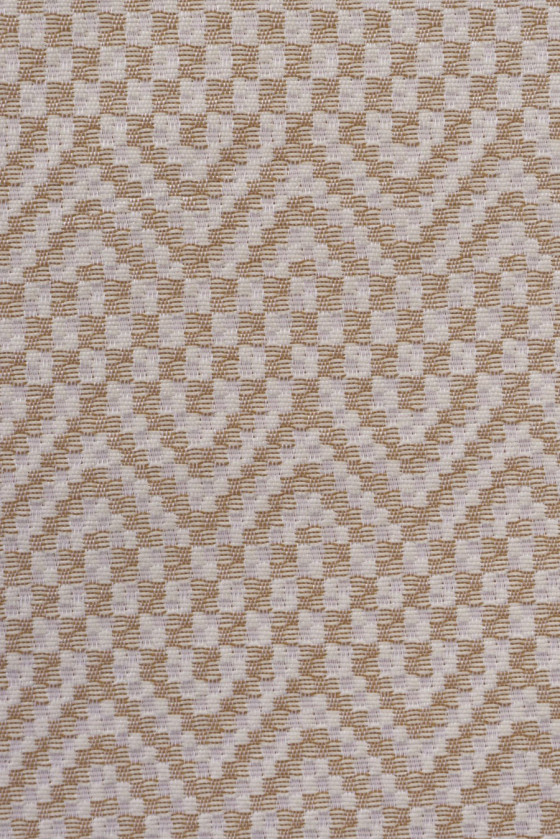 Jacquard fabric in zigzags