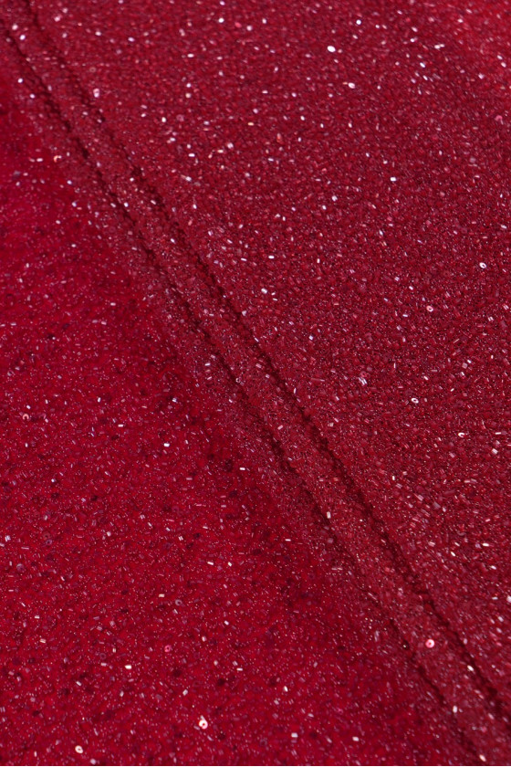 Evening fabric with beads -...