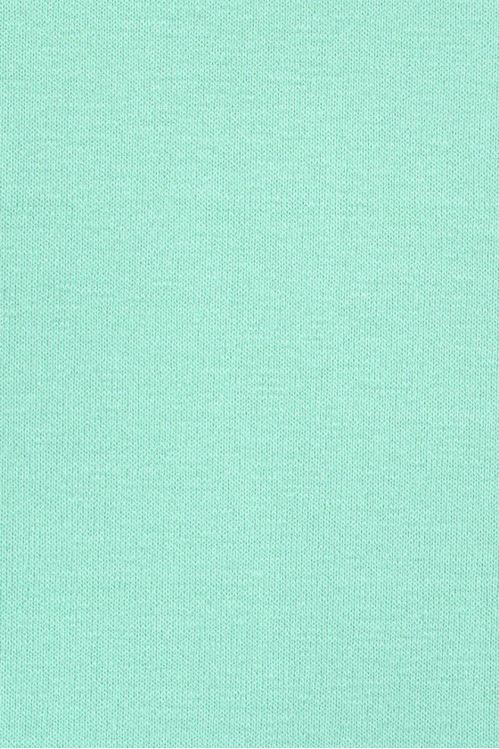 Knitted fabric of modal - bright turquoise