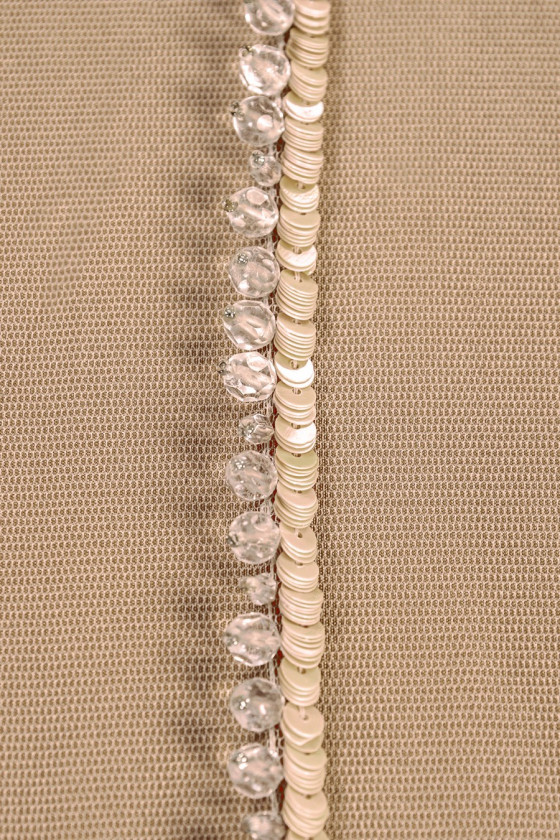 Tape with sequins and beads