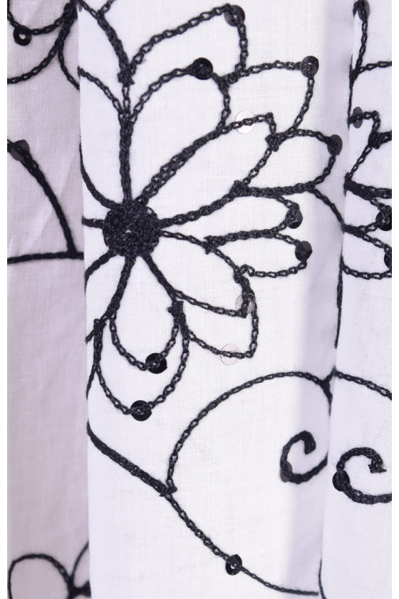 Embroidered cotton