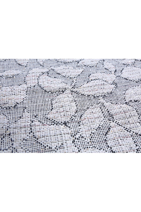 Jacquard with sequins