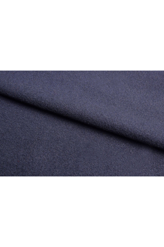 Coat fabric wool and pomegranate cashmere