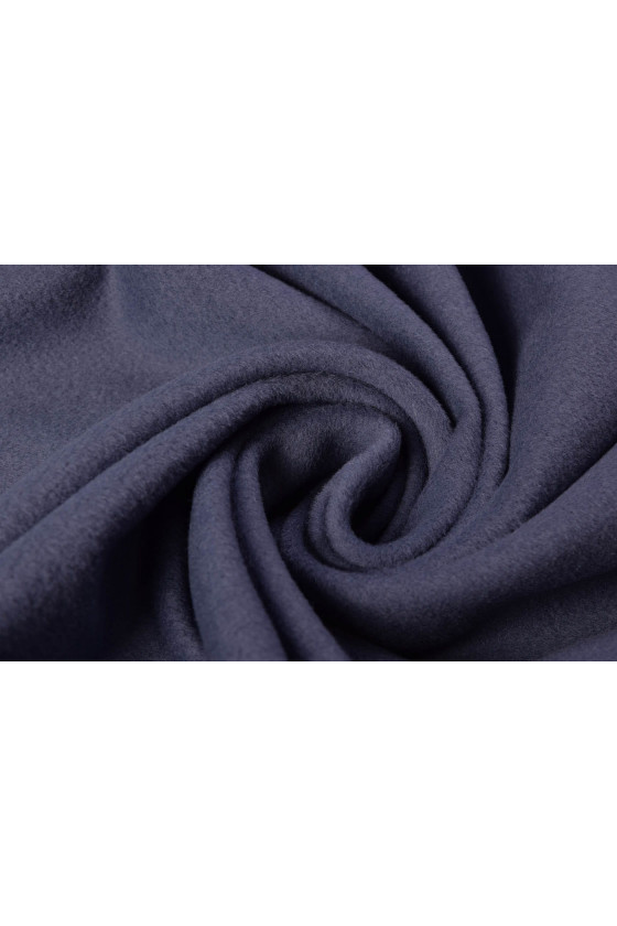 Coat fabric wool with cashmere violet