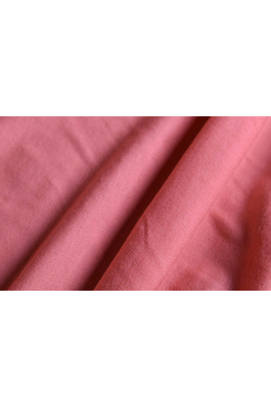 Knitted coral viscose