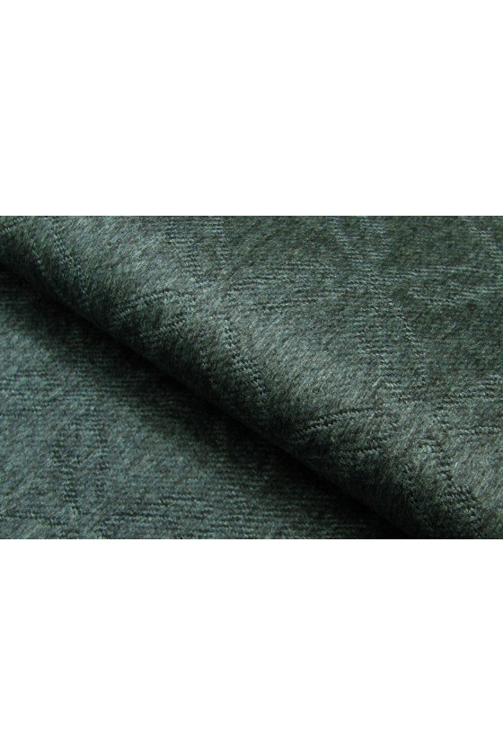 Wool coat fabric with cashmere pattern