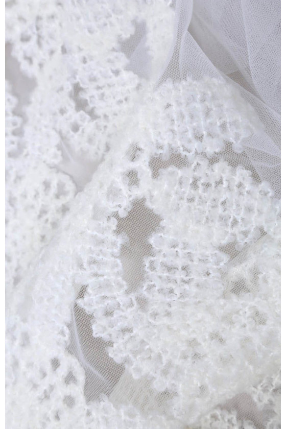 Tulle embroidered