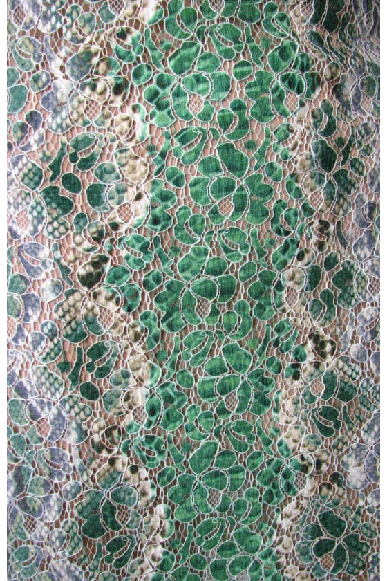 Two-tone lace