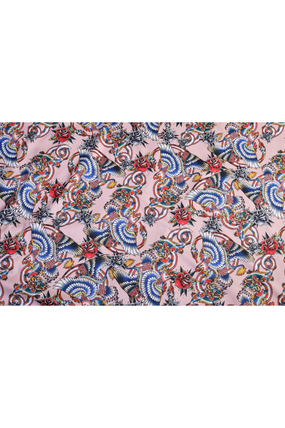 Patterned cotton - fabric